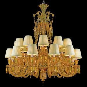 Golden Grace Chandelier